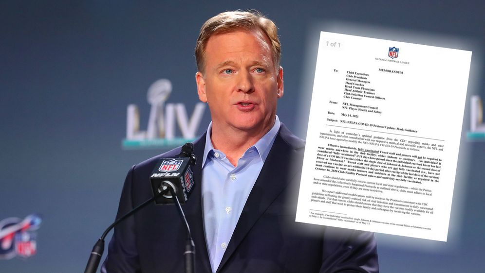 Die NFL ändert ihre Corona-Regularien. - Bildquelle: Imago Images/Twitter:Ian Rapoport