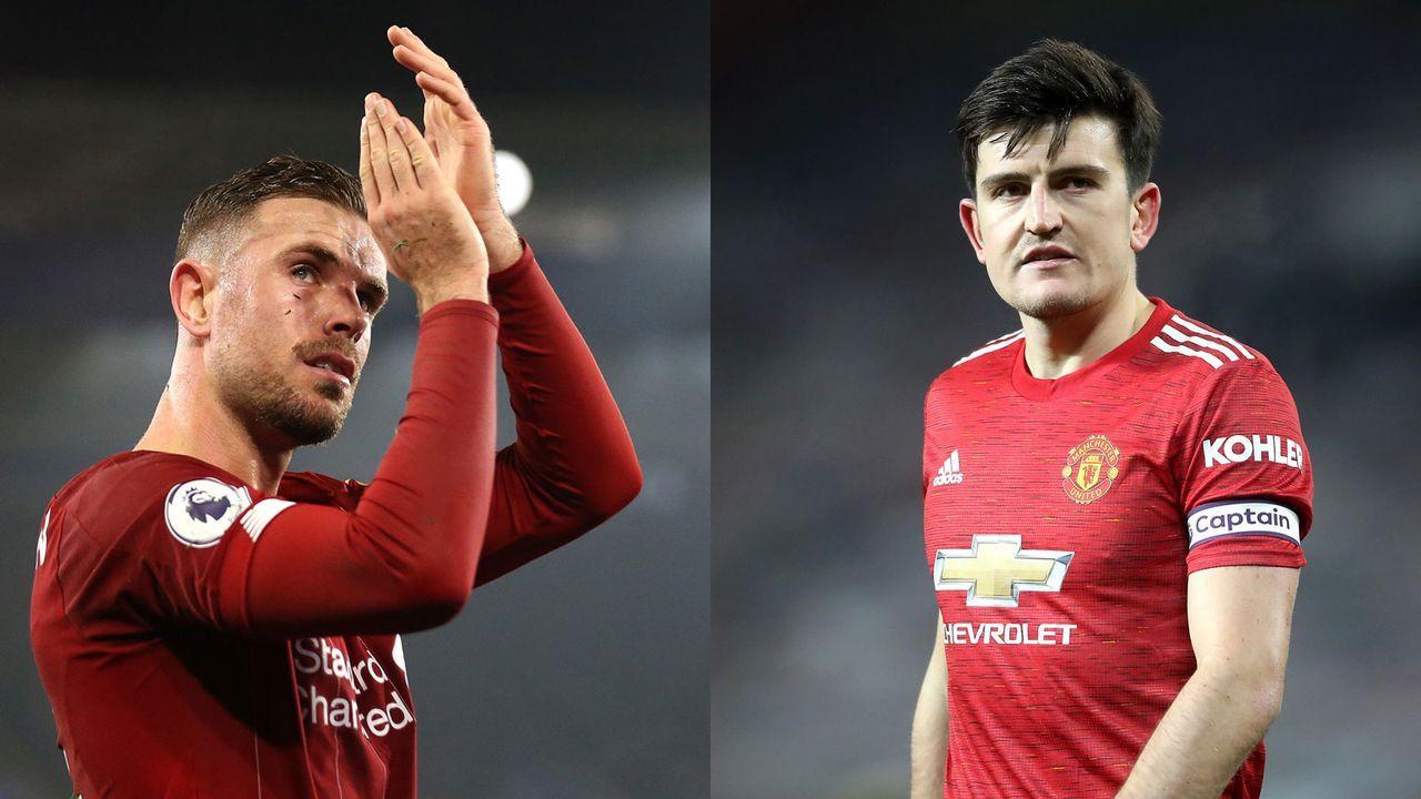 Innenverteidigung: Jordan Henderson versus Harry Maguire - Bildquelle: Getty Images