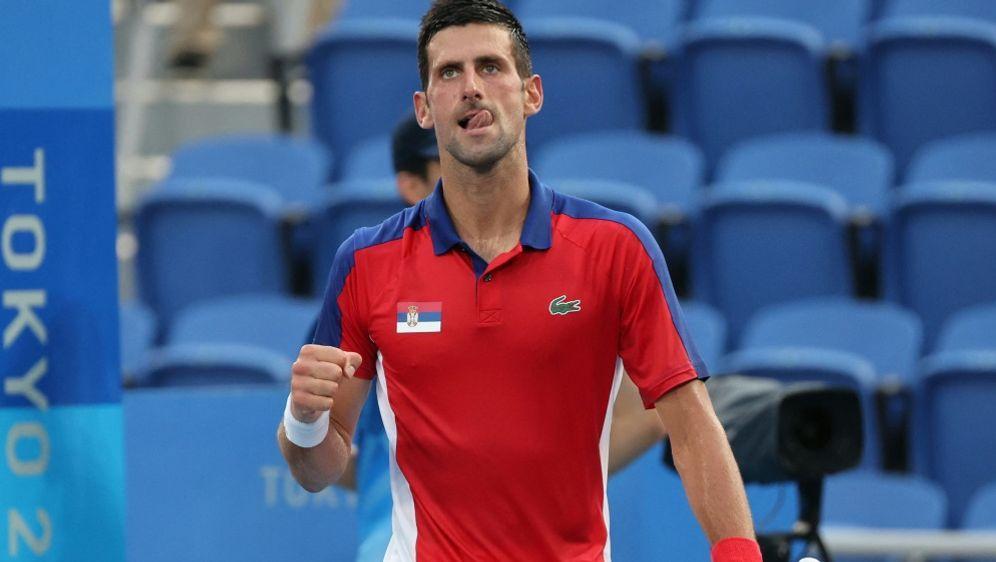 Favorit Novak Djokovic steht im Viertelfinale - Bildquelle: AFPSIDGIUSEPPE CACACE