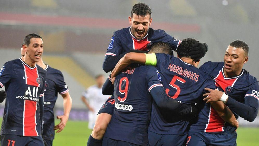 Paris St. Germain gewinnt Supercup gegen Marseille - Bildquelle: AFPSIDDENIS CHARLET