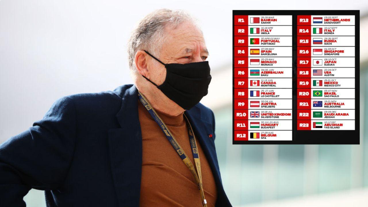 Zwei Mal Italien, kein Mal Deutschland: Der Rennkalender der Formel-1-Saison 2021 - Bildquelle: Getty