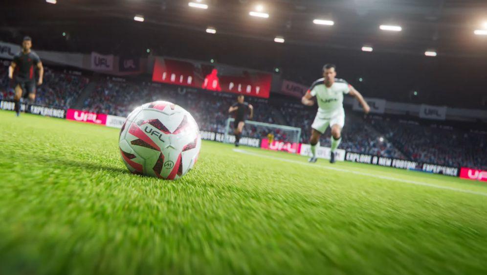 UFL heißt das neue Fußballspiel, das FIFA und eFootball Konkurrenz machen wi... - Bildquelle: YouTube/UFL
