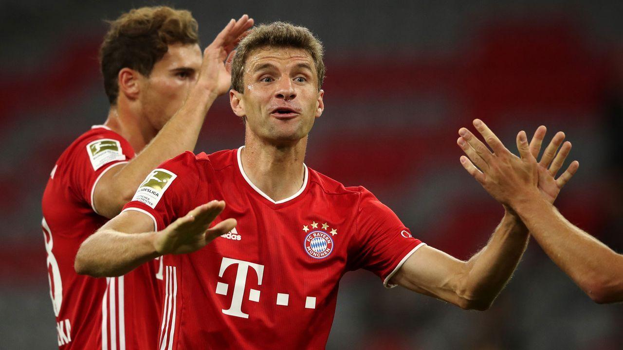 Thomas Müller macht sein 200. Pflichtspieltor für Bayern - Bildquelle: 2020 Getty Images