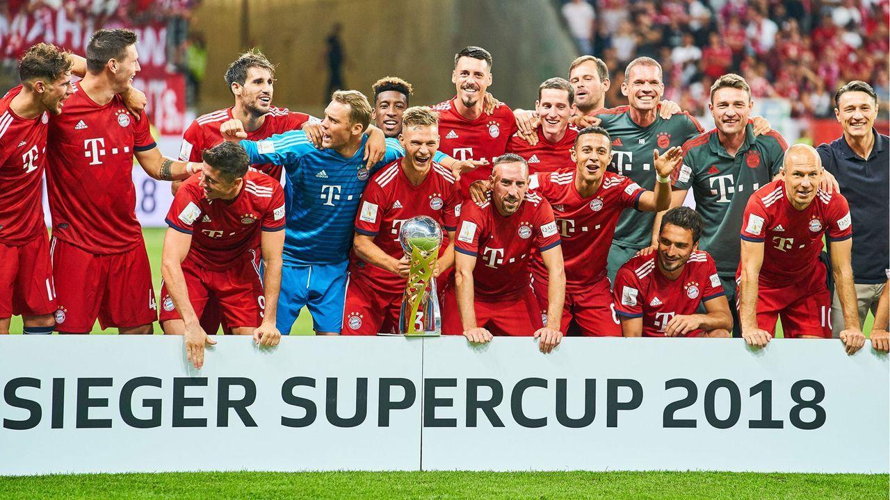 Platz 1: FC Bayern München - Bildquelle: imago/ActionPictures