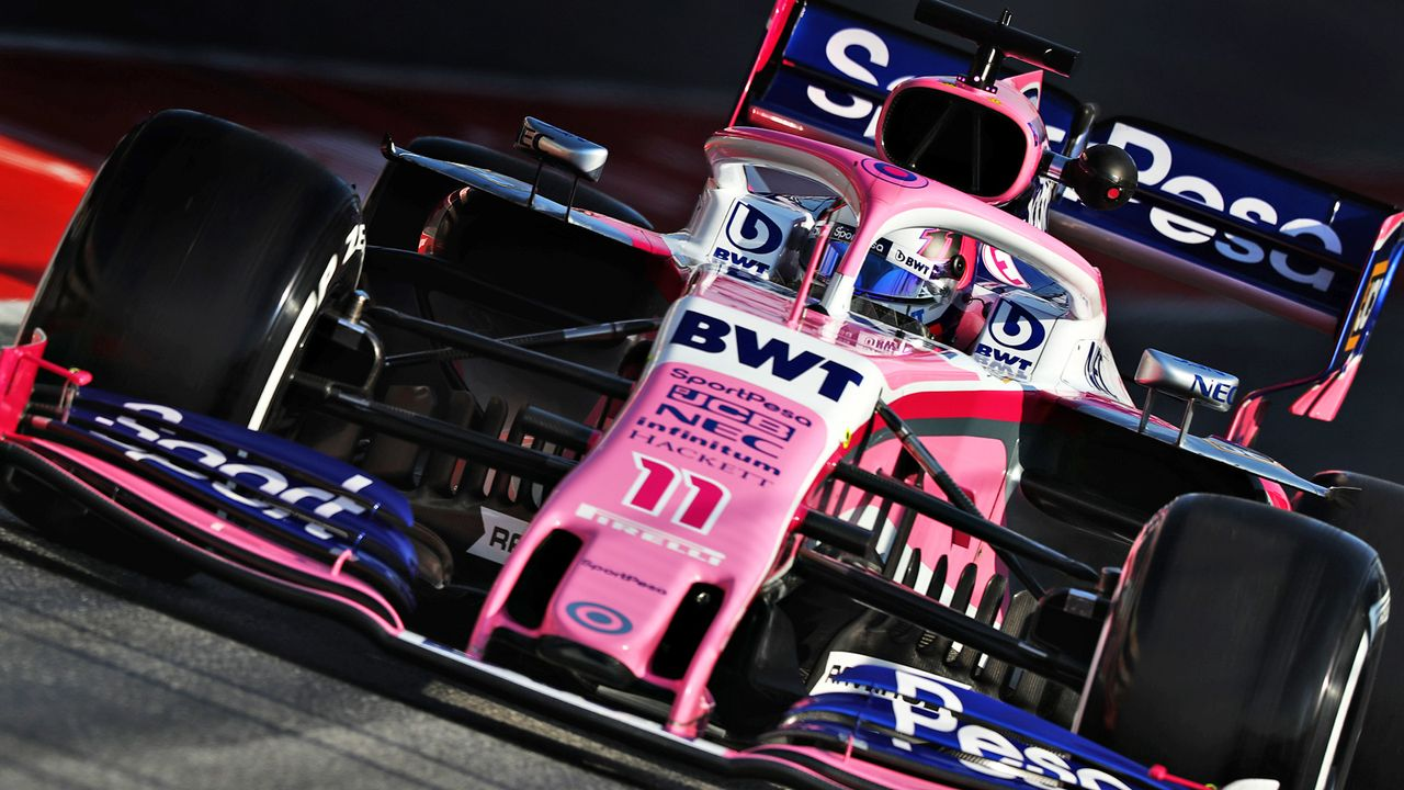 Platz 9: Racing Point - Bildquelle: Getty