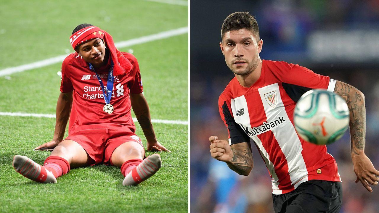 Rhian Brewster (FC Liverpool) und Unai Nunez (Athletic Bilbao) - Bildquelle: Getty / Imago