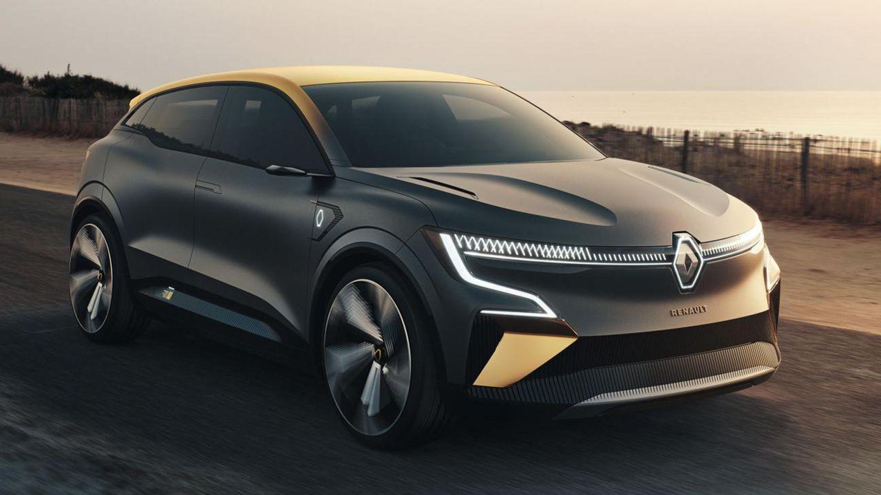 Renault Megane eVision - Bildquelle: Renault
