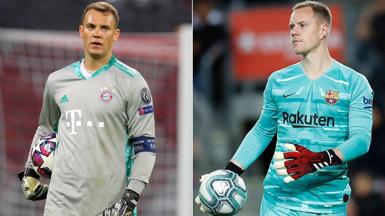 Neuer Vs Ter Stegen Die Starkeeper Von Bayern Und Barca Im Vergleich