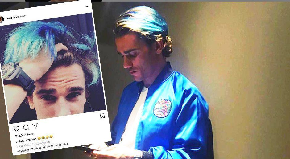 Antoine Griezmann - Bildquelle: instagram.com/antogriezmann