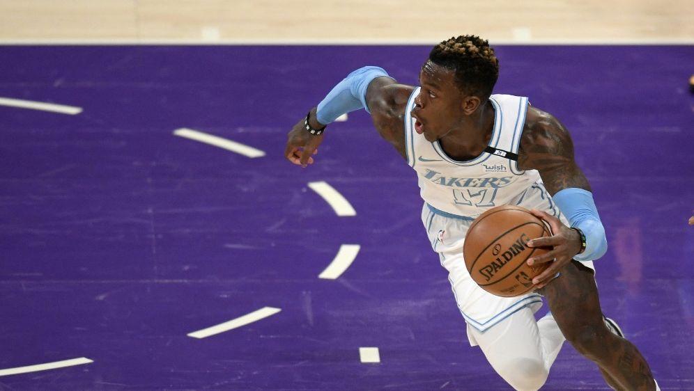 Rückschlag für Schröder und die Lakers - Bildquelle: AFPGETTYSIDHARRY HOW