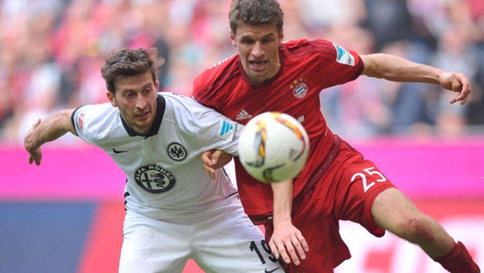 Der FC Bayern empfängt am Samstag Eintracht Frankfurt zum Spitzenspiel des 2... - Bildquelle: 2016 Getty Images