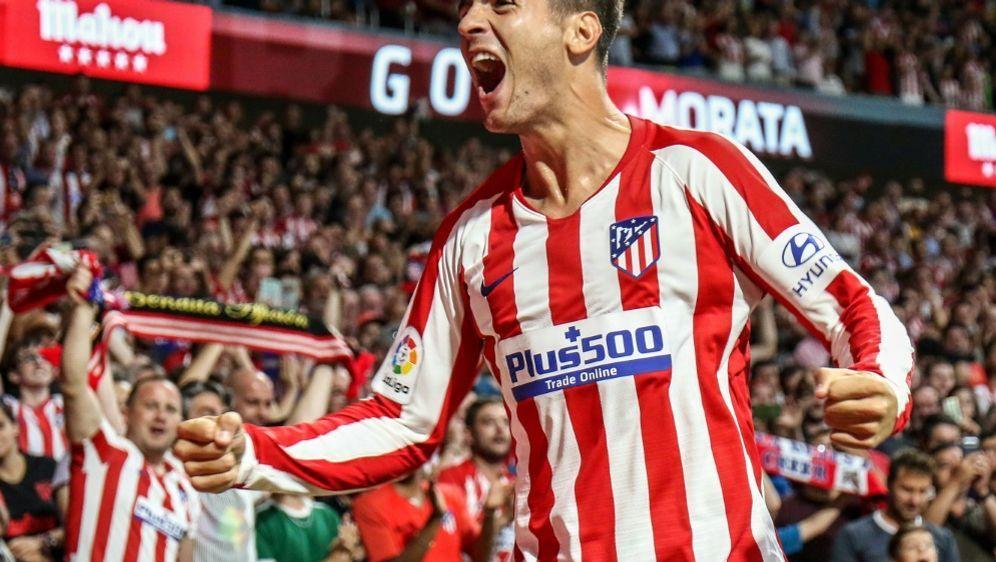 Morata hatte sich im Derby gegen Real Madrid verletzt - Bildquelle: PIXATHLONPIXATHLONSID