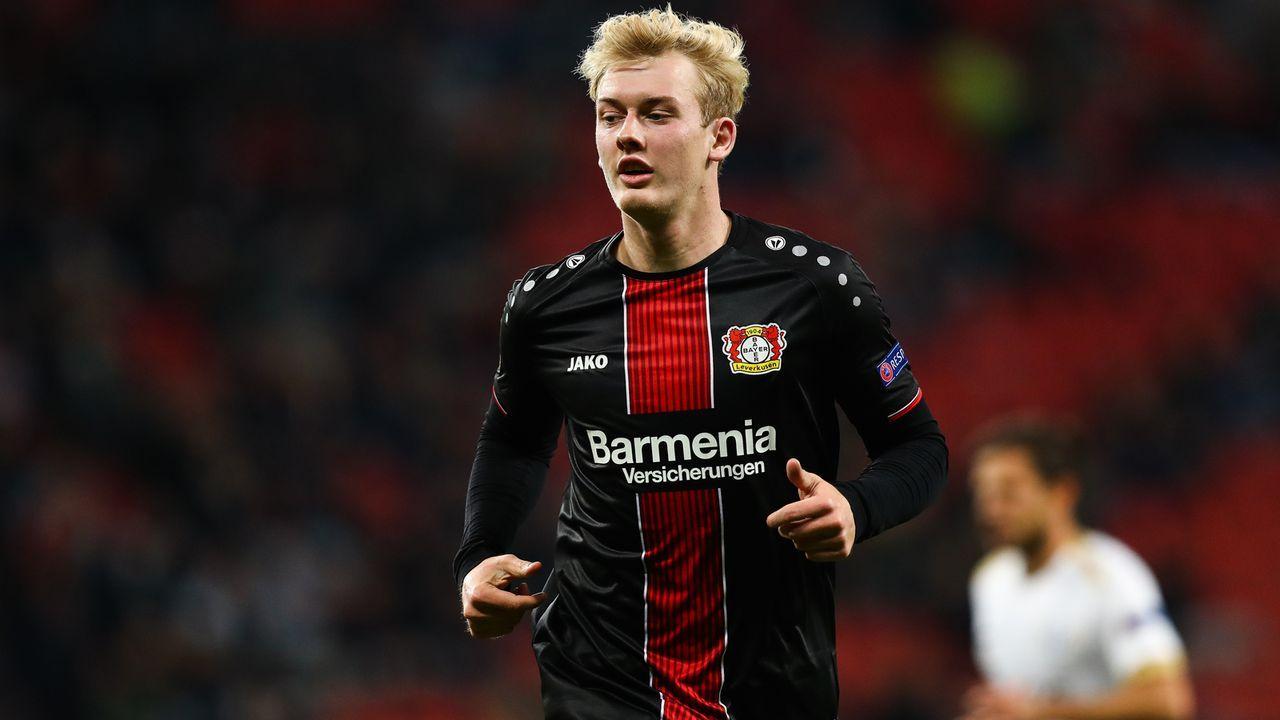 Julian Brandt – Fußballer bei Bayer Leverkusen - Bildquelle: Getty Images
