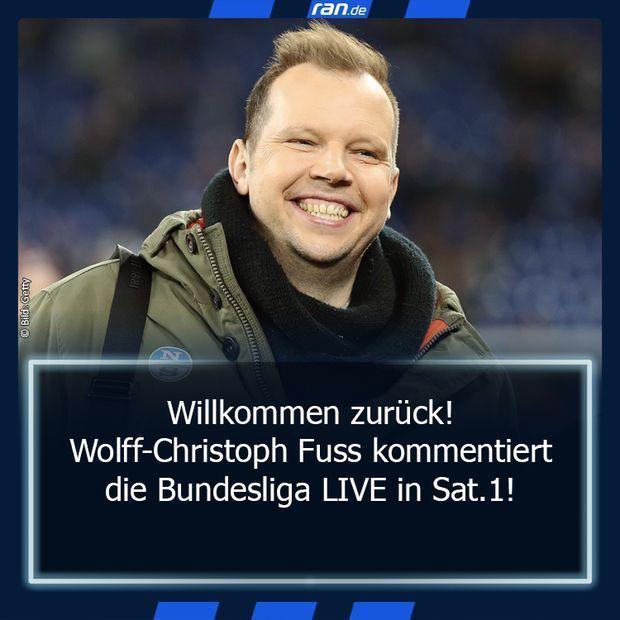 Link in Bio: Wolff-Christoph Fuss zurück bei ran