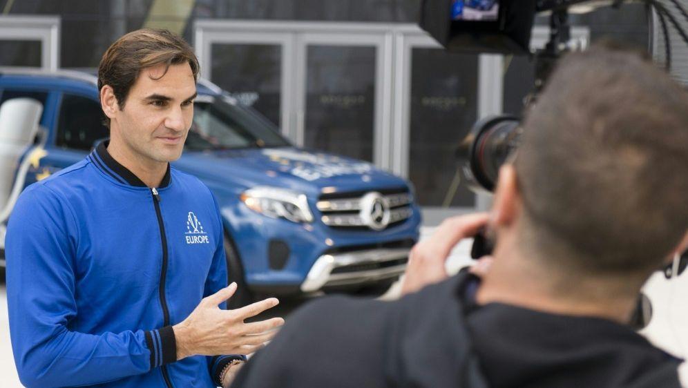 Roger Federer fiebert dem Laver Cup entgegen - Bildquelle: MERCEDESMERCEDESSID