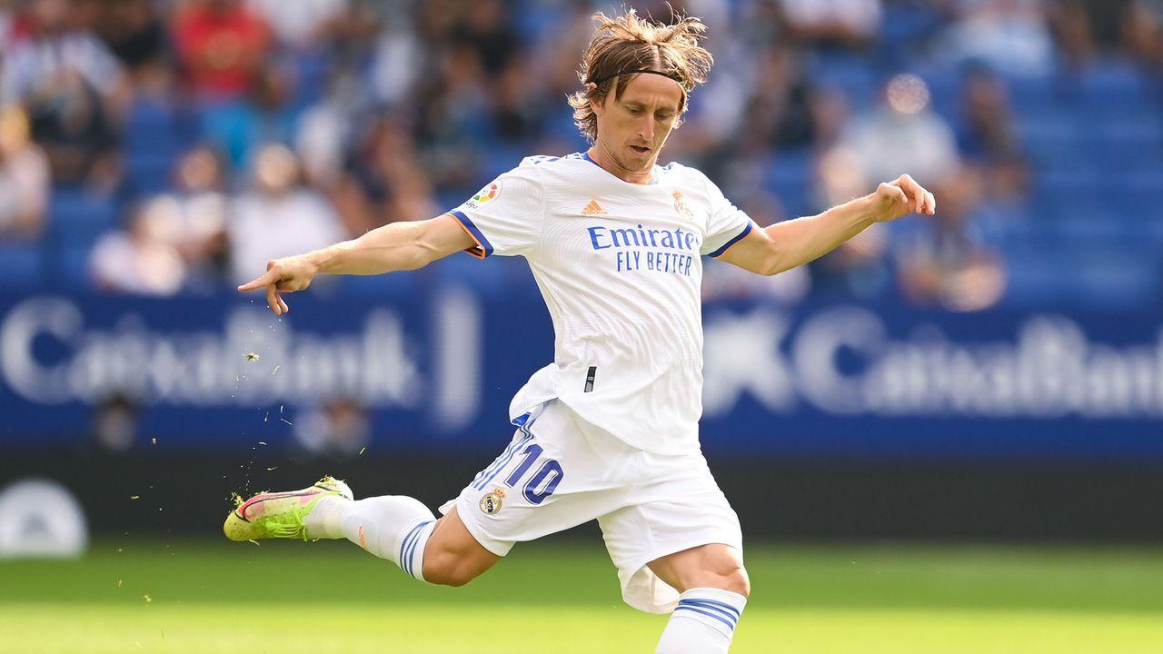 Luka Modric (Real Madrid) - Bildquelle: 2021 Getty Images