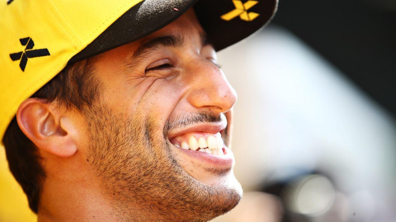 Platz 7: Daniel Ricciardo (Renault) - Bildquelle: 2019 Getty Images