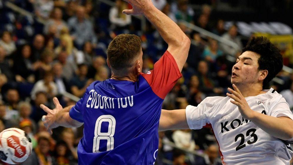 Handball-WM: Russland gewinnt gegen Korea mit 34:27 - Bildquelle: AFPSIDJohn MACDOUGALL