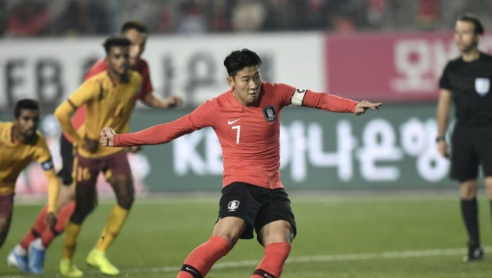 Spielt mit Südkorea gegen Nordkorea: Heung-Min Son - Bildquelle: AFPSIDJUNG YEON-JE