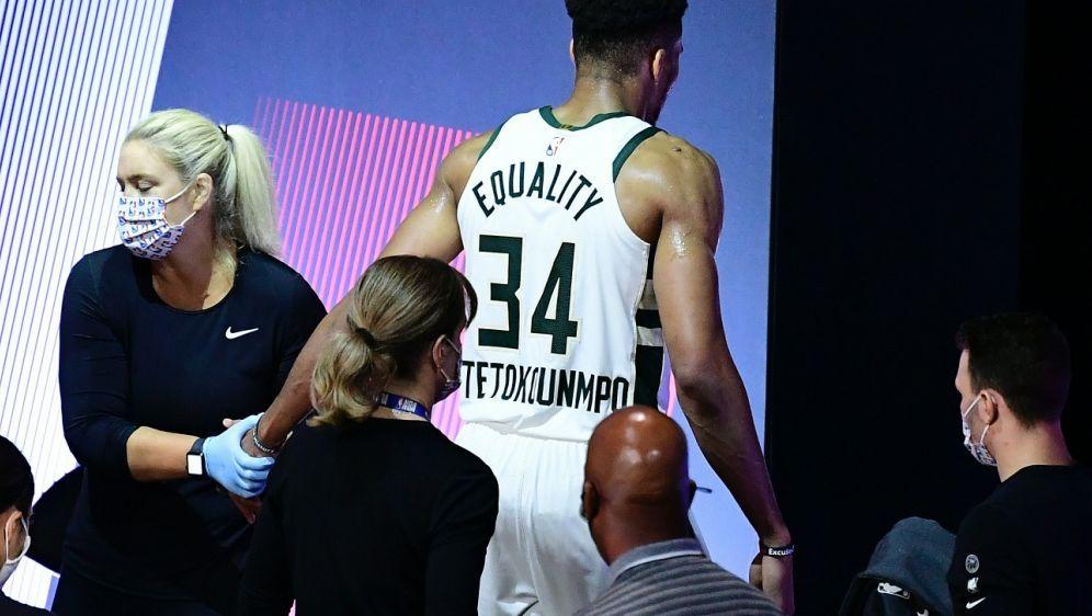 """Bucks scheiden ohne verletzten """"Greek Freak"""" aus - Bildquelle: GETTYAFPSIDDouglas P. DeFelice"""