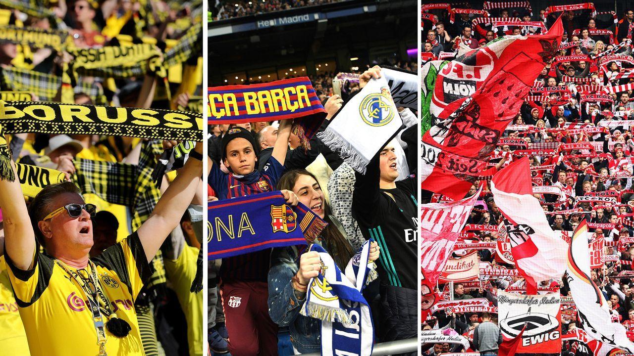 Die Fussball Vereine Mit Dem Hochsten Zuschauerschnitt