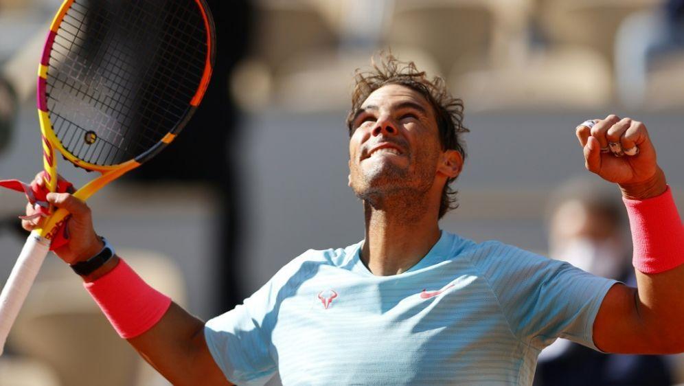 Ohne Satzverlust ins Viertelfinale: Rafael Nadal - Bildquelle: AFPSIDTHOMAS SAMSON