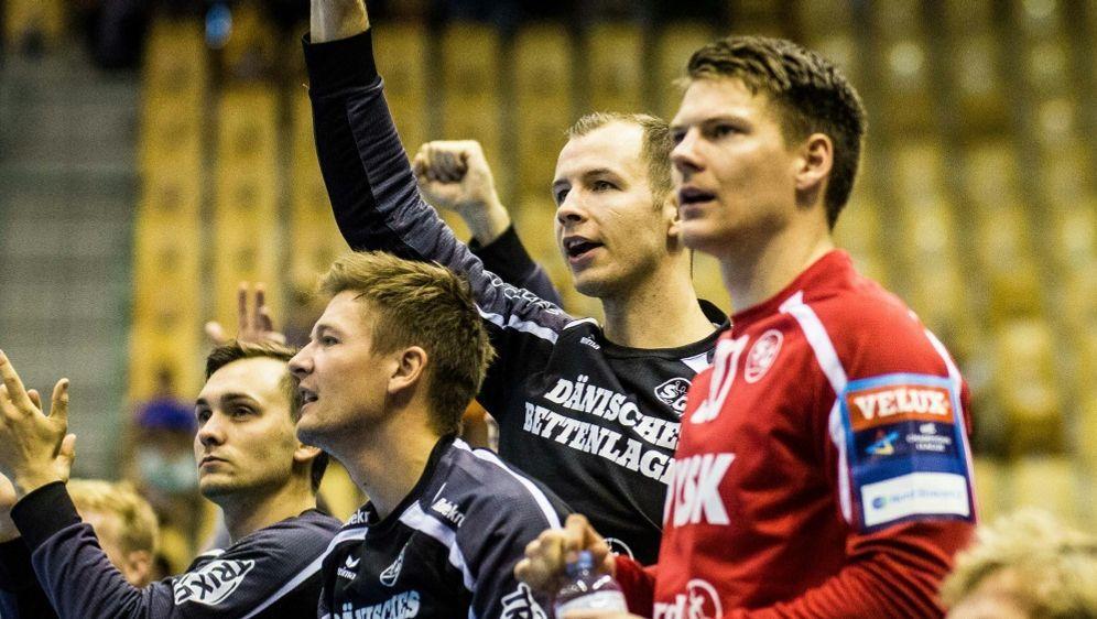 Flensburg-Handewitt steuert auf die Meisterschaft zu - Bildquelle: PIXATHLONPIXATHLONSID