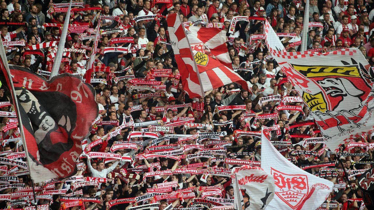 Platz 1: VfB Stuttgart - Bildquelle: imago