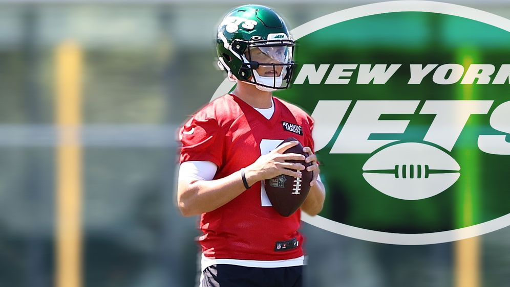 Zach Wilson fehlt zum Start des Training Camps bei den New York Jets - Bildquelle: 2021 Getty Images