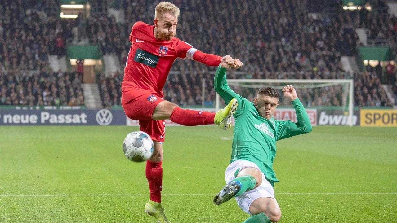 2020: SV Werder Bremen vs. 1. FC Heidenheim - Bildquelle: Imago