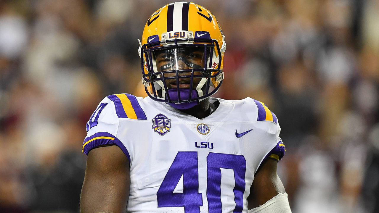Devin White (LSU) - Bildquelle: imago/ZUMA Press