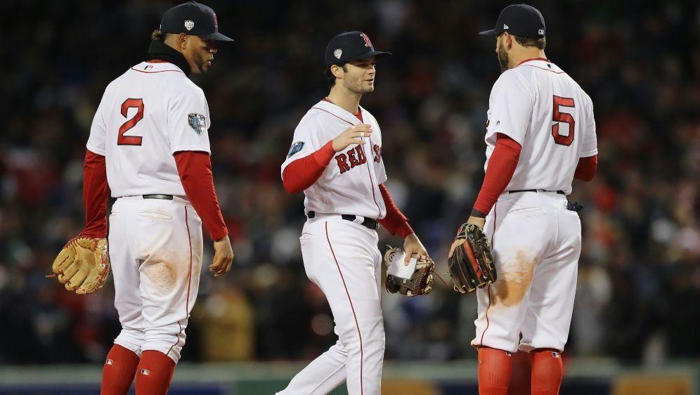 Boston Red Sox auf Titelkurs - Bildquelle: GETTY AFPSIDELSA