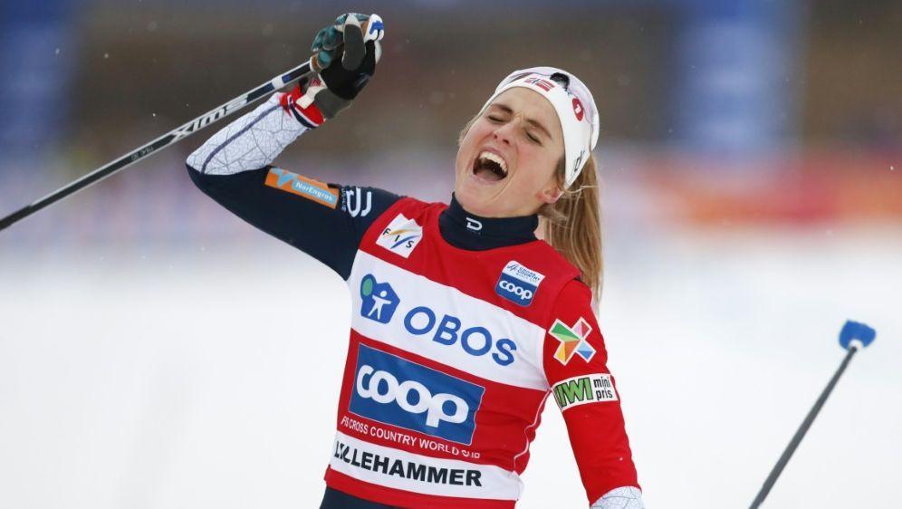 Viertes Rennen, vierter Sieg: Therese Johaug - Bildquelle: NTB ScanpixNTB ScanpixSIDTORE MEEK