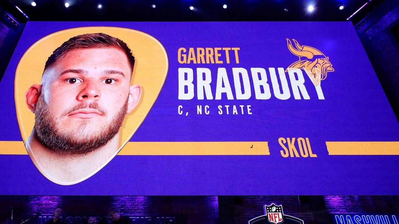 18. Pick - Minnesota Vikings: C Garrett Bradbury (NC State) - Bildquelle: 2019 Getty Images