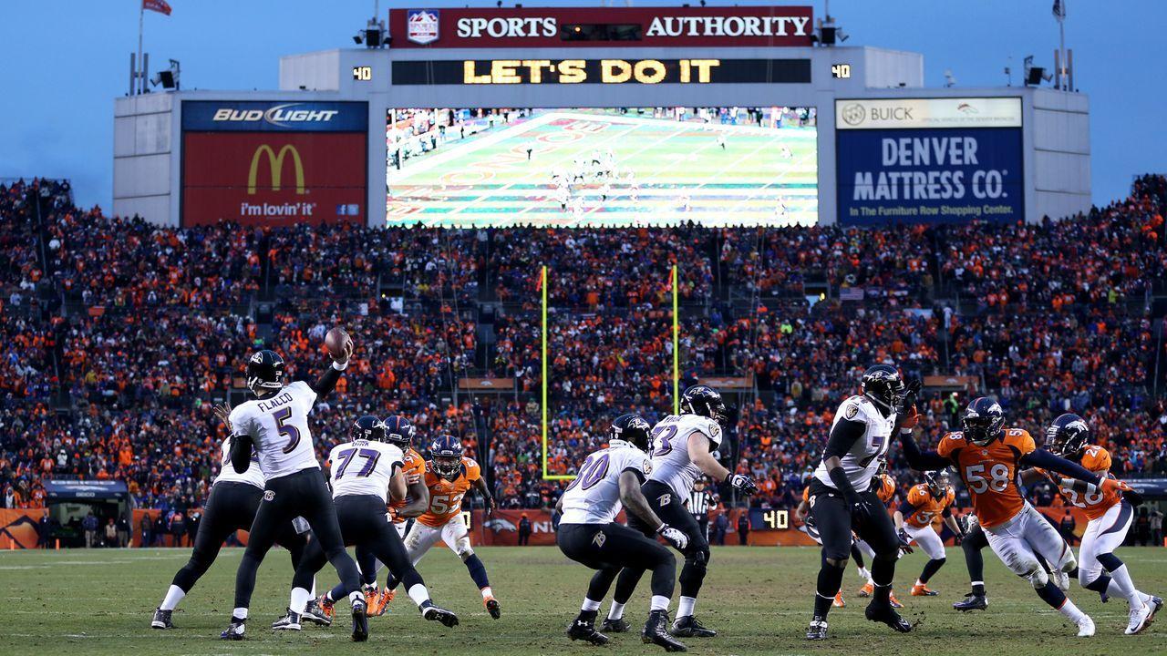 12. Januar 2013: Baltimore Ravens at Denver Broncos (Divisional Round) - Bildquelle: 2013 Getty Images