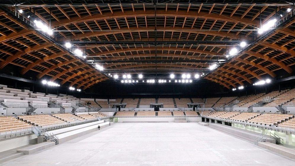 "Neue Olympia-Halle in Tokio: ""Ariake Gymnastics Center"" - Bildquelle: AFPSIDKAZUHIRO NOGI"