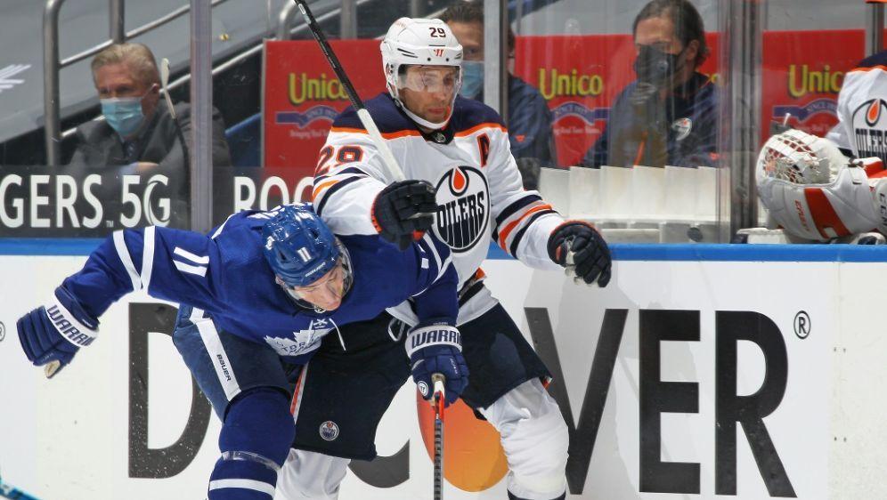 Draisaitl trifft bei Oilers-Niederlage gegen Toronto - Bildquelle: AFPGETTY SID