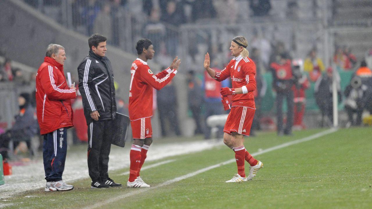 Am 10. Februar 2010 gab David Alaba sein Profi-Debüt im DFB-Pokal gegen Greuther Fürth - Bildquelle: imago