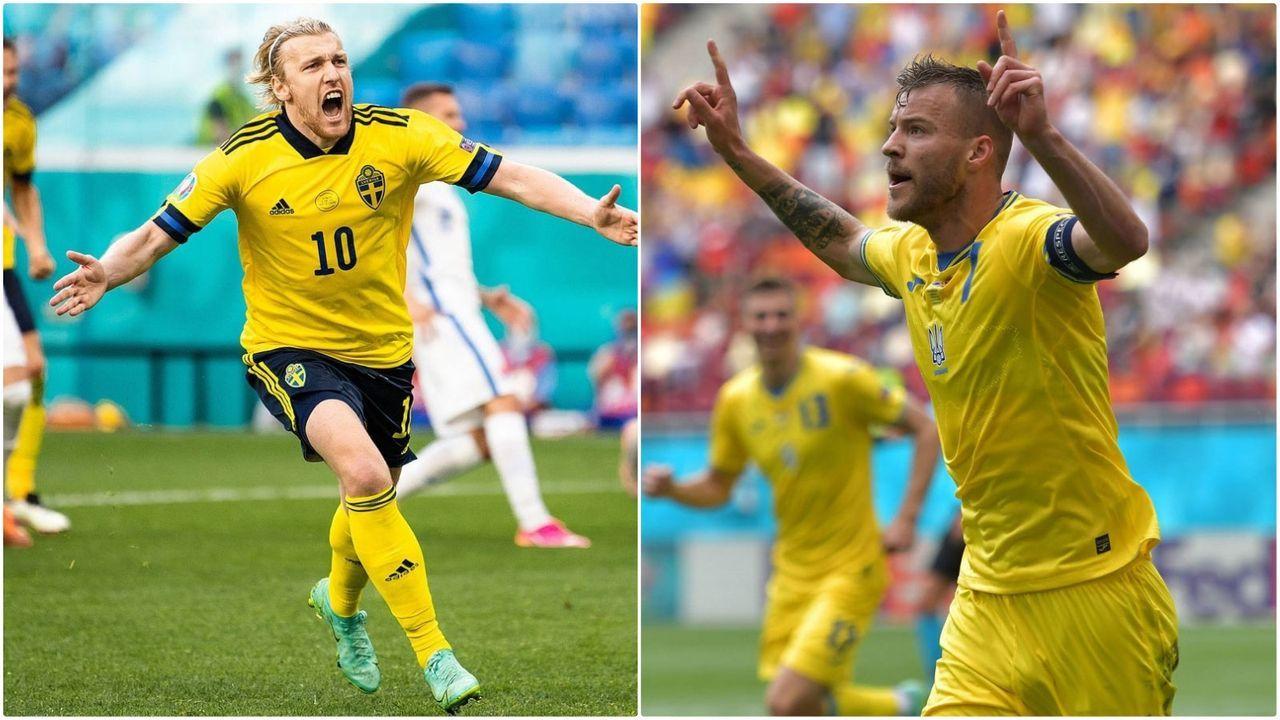 Schweden vs. Ukraine - Bildquelle: Imago Images/Imago Images