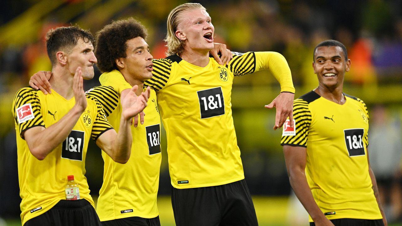 Platz 18 - Borussia Dortmund (Deutschland) - Bildquelle: 2021 Getty Images
