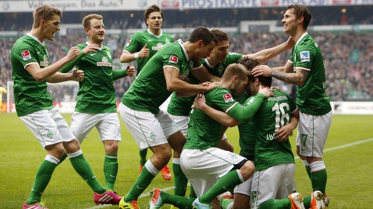1. März 2014: Bremen - Hamburg 1:0 (1:0) - Bildquelle: imago