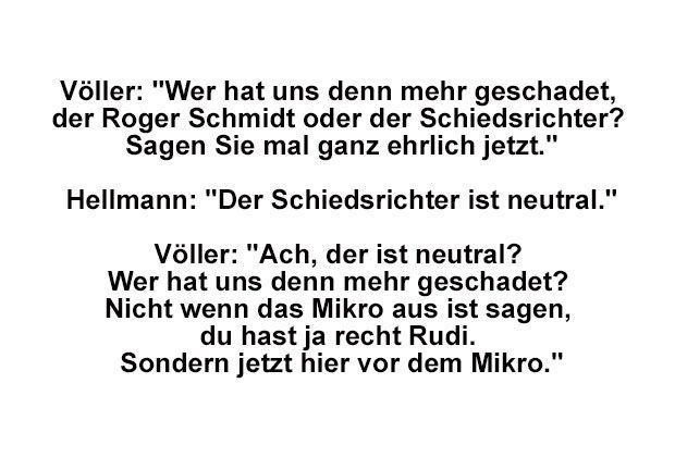 Die Besten Spruche Von Rudi Voller