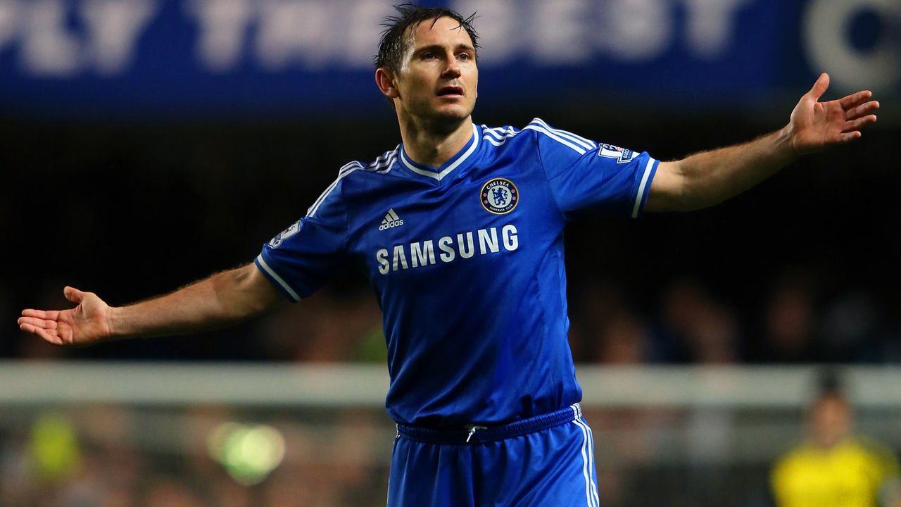 Platz 3 - Frank Lampard - Bildquelle: 2014 Getty Images