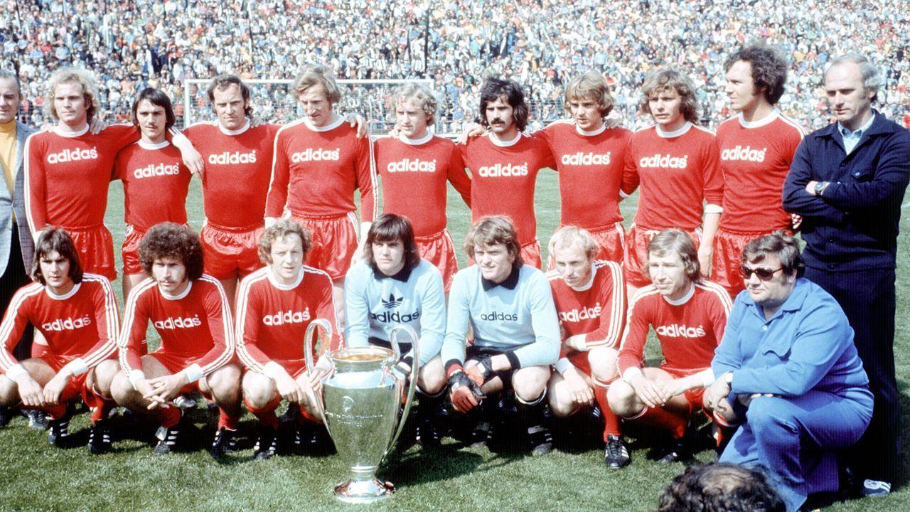 Heimtrikot der Saison 1974-77 - Bildquelle: Imago
