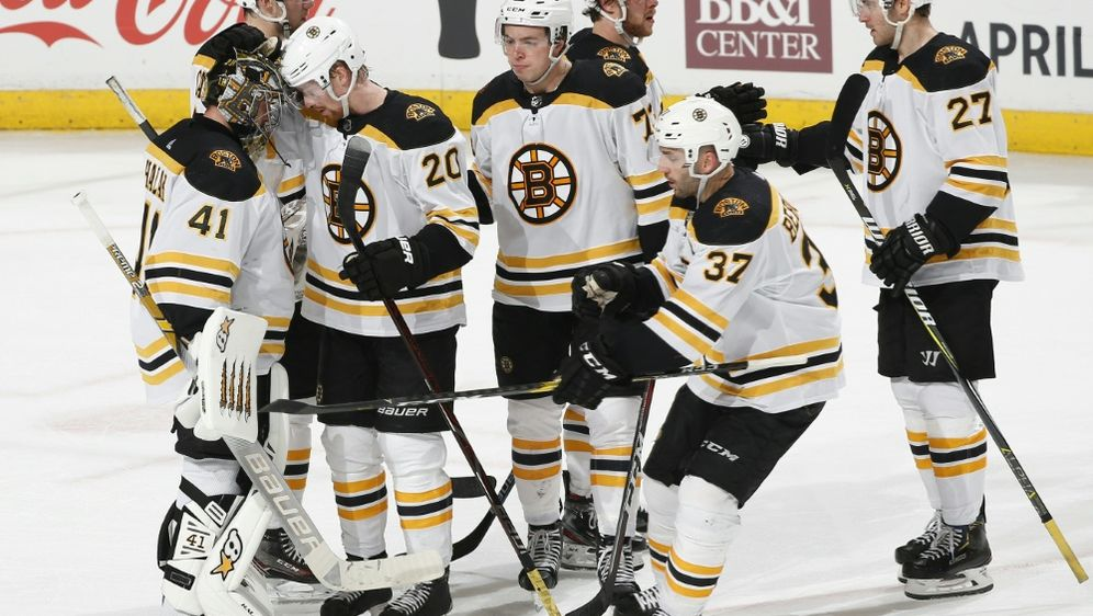 In den Play-offs: die Boston Bruins - Bildquelle: AFPGETTY SID