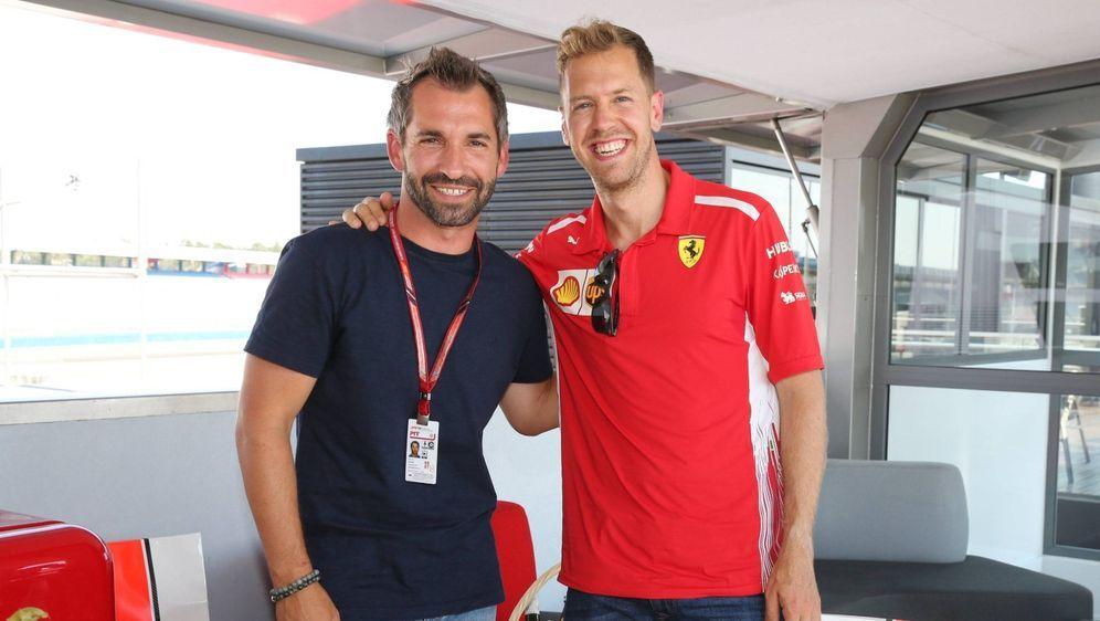 Kennen sich noch sehr gut aus gemeinsamen Formel-1-Zeiten: Timo Glock (links... - Bildquelle: Imago