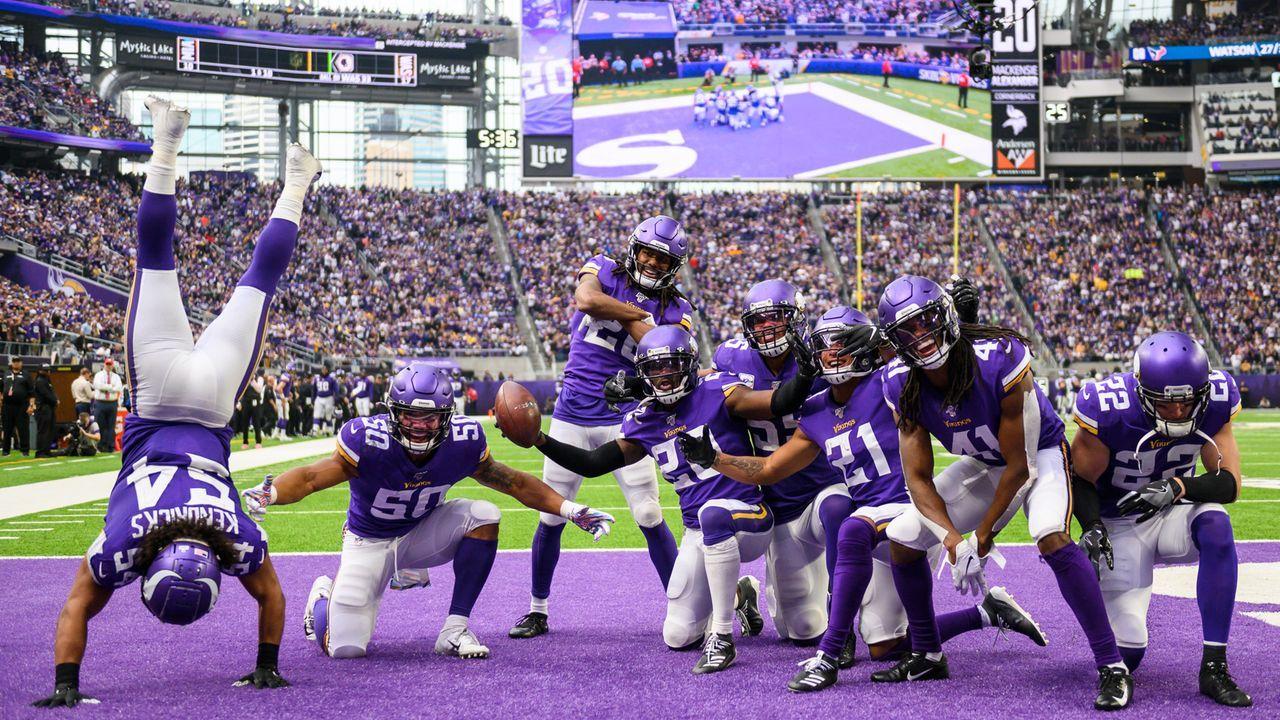 Viel hilft viel: Minnesota Vikings mit Rekord - Bildquelle: 2019 Getty Images