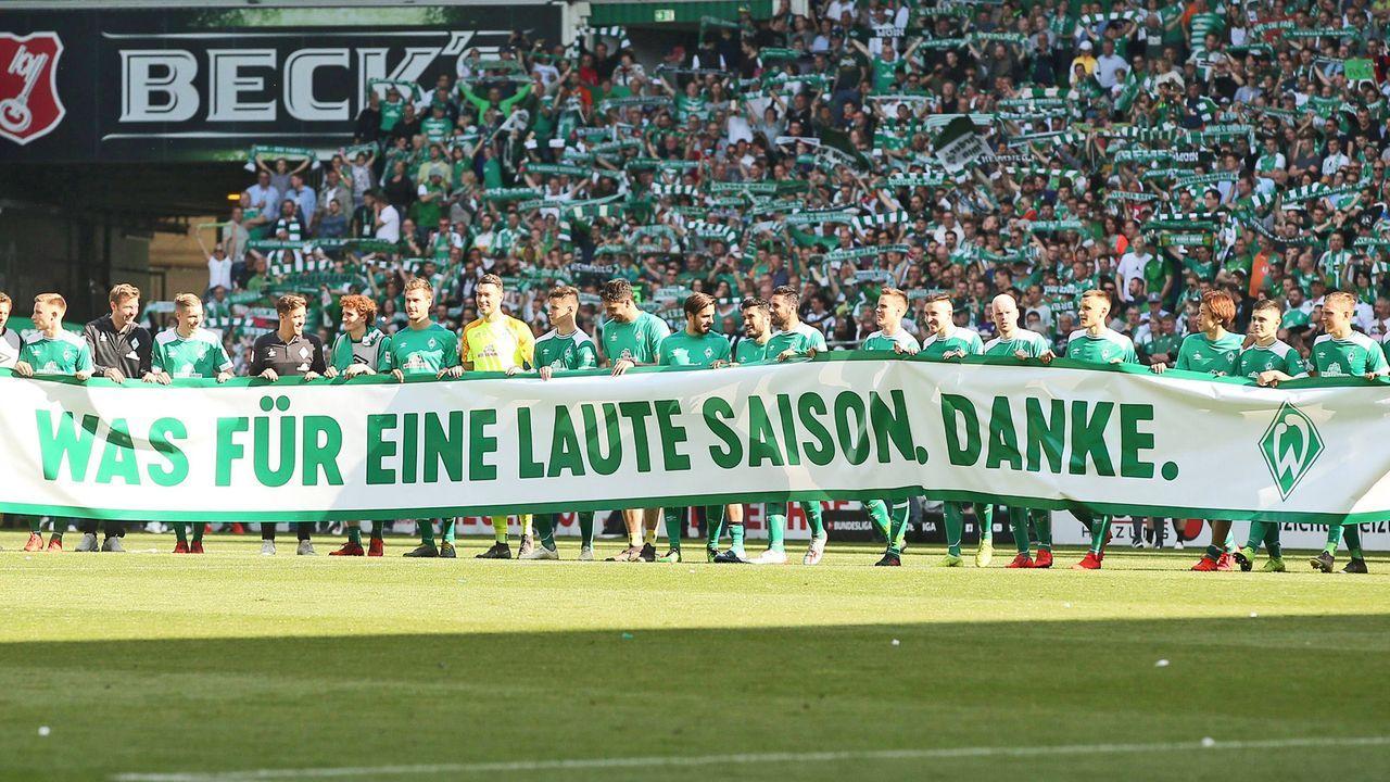 Platz 3: SV Werder Bremen  - Bildquelle: imago images / Picture Point LE