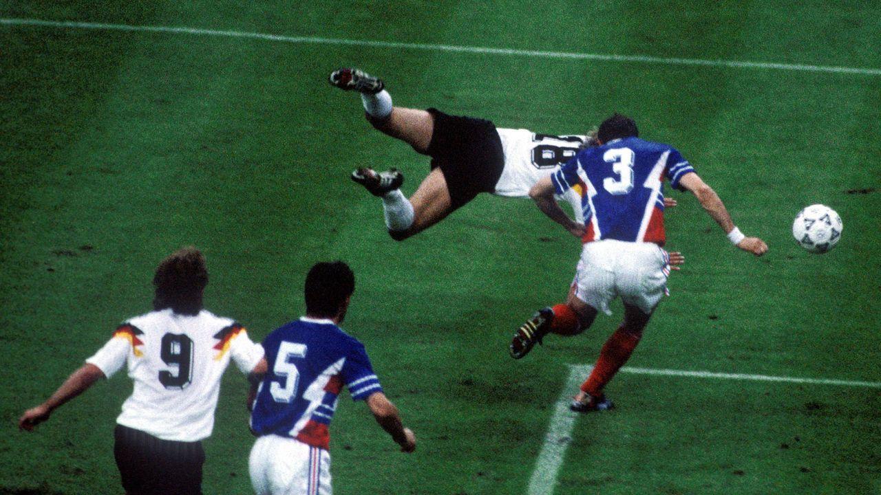 WM 1990: Deutschland - Jugoslawien