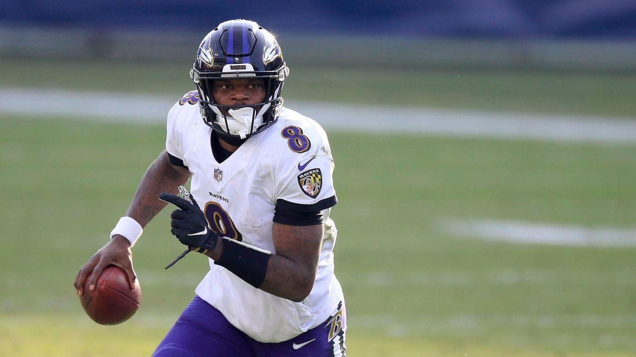 Platz 5: Lamar Jackson (Baltimore Ravens) - Bildquelle: 2021 Getty Images